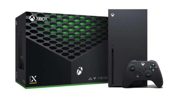 Microsoft Xbox Series X 1TB Spielekonsole - 4K WLAN Blu-Ray Schwarz Händler Neu