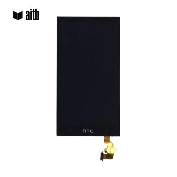 Premium Smartphone Display für HTC M8, schwarz
