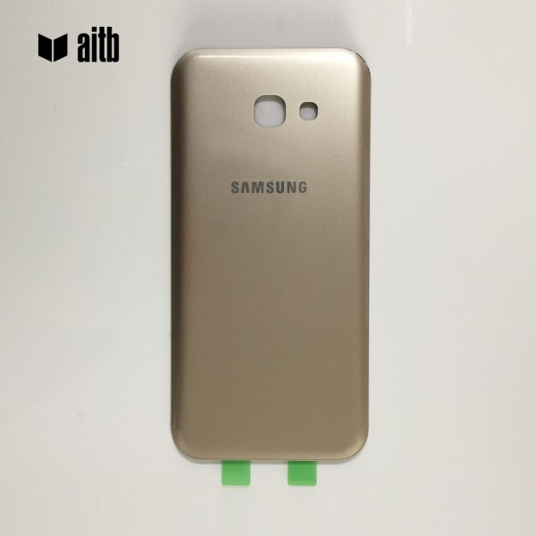 Samsung Galaxy A5 (2017) A520 Backcover Akkudeckel in gold + Kleber