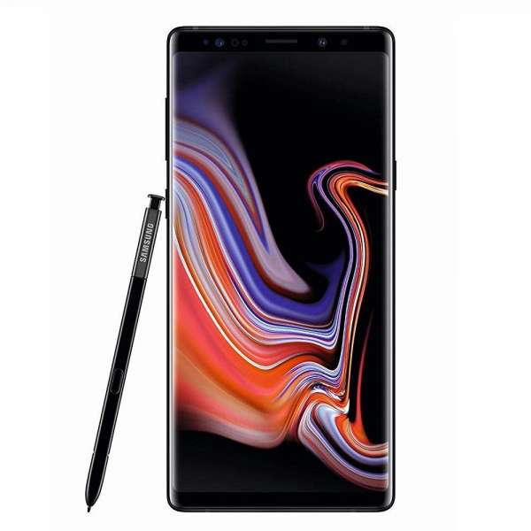Samsung Galaxy Note 9 SM-N960F/DS 128GB Midnight Black Schwarz Ohne Simlock NEU