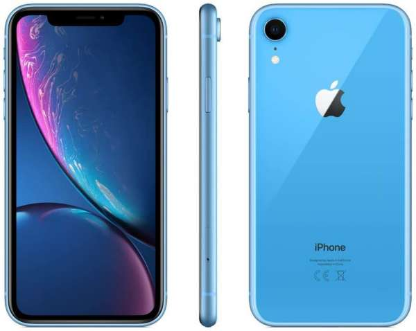 Apple iPhone XR 64GB Blau (Generalüberholt)