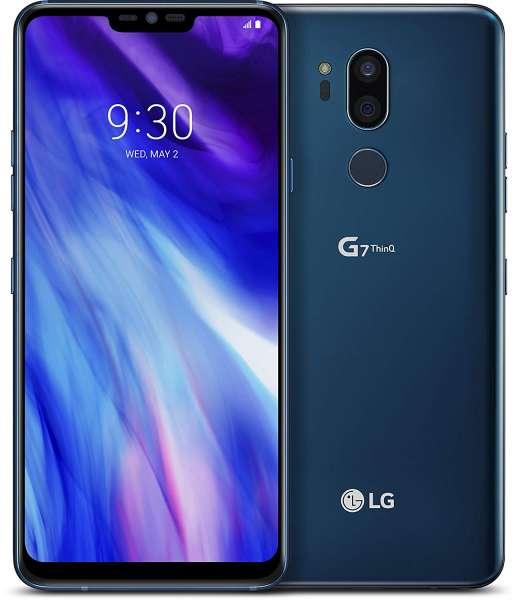 LG G7 ThinQ 64GB LM-G710EM blue blau LTE 16MP simlockfrei NEU