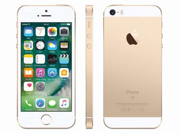 Apple iPhone SE 32GB Gold (Generalüberholt)