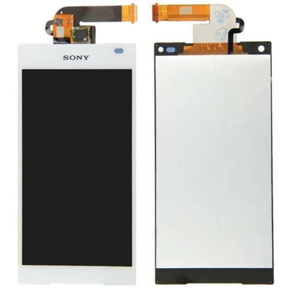 Display für Sony Xperia Z5 Compact Mini E5803 E5823 LCD in weiß weiss inkl. Werkzeugset