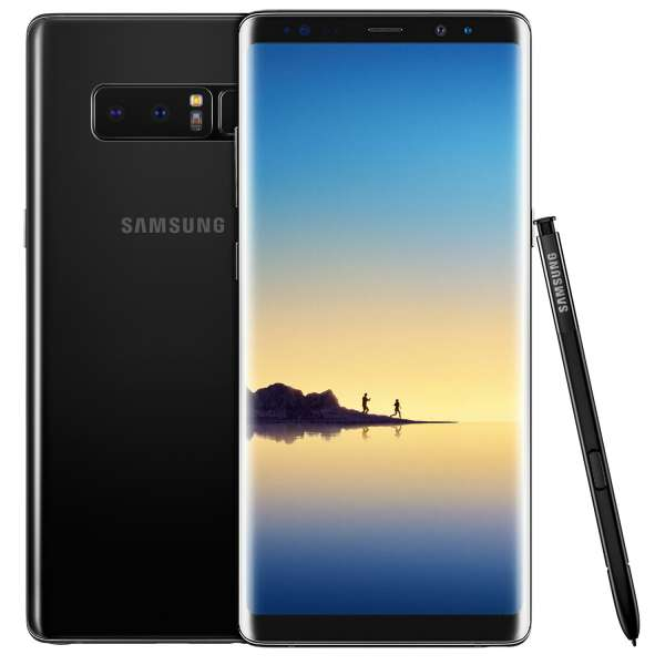 Samsung Galaxy Note 8 SM-N950F/DS 64GB Midnight Black Schwarz Ohne Simlock NEU