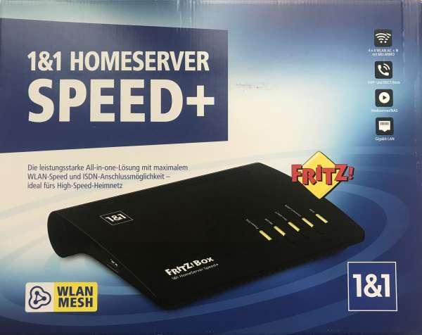 Fritz!Box FritzBox 7590 Dual-Band WLAN Router 1&1 Homeserver Speed+ NEU & OVP