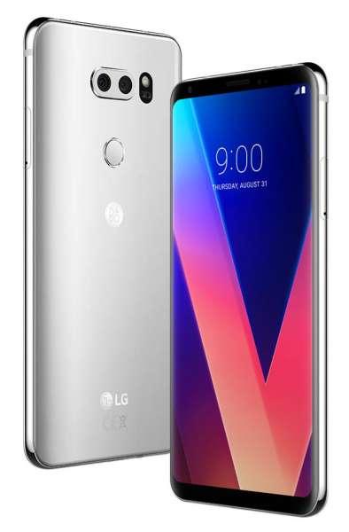 LG V30 64GB LG-H930 Silver Silber OLED 16MP simlockfrei NEU