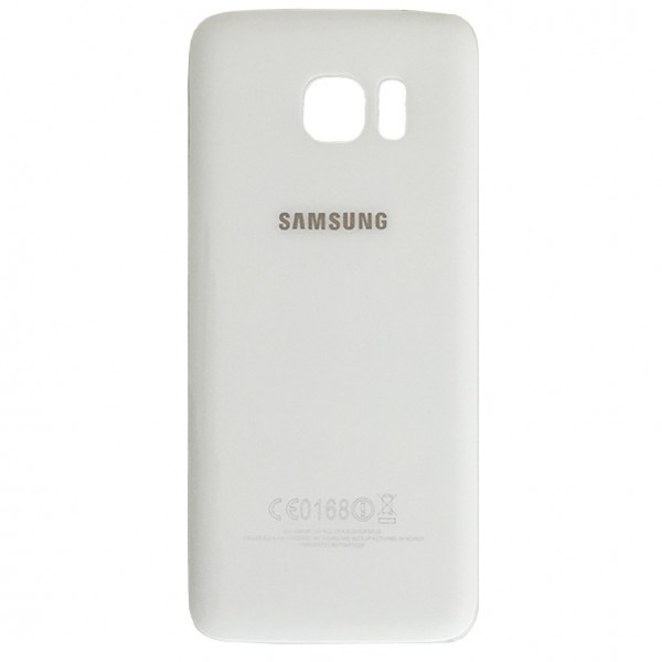 Samsung Galaxy S7 Edge G935F Backcover Akkudeckel in weiß + Kleber