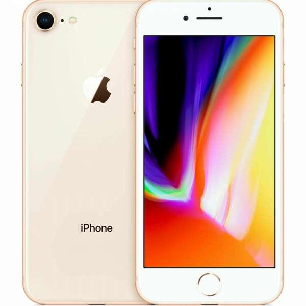 Apple iPhone 8 64GB gold - ohne Simlock - wie NEU