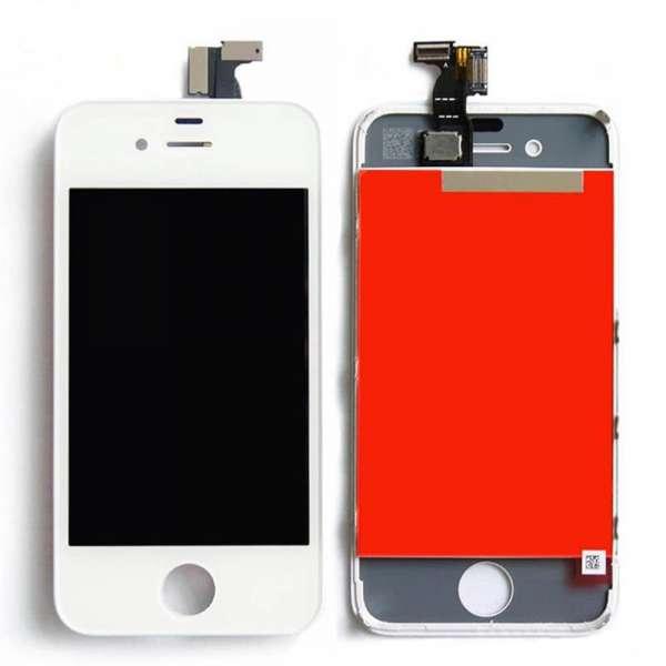 Display für Apple iPhone 4 4G LCD in weiß white inkl. Werkzeugset