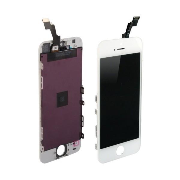 Display für Apple iPhone 5 Retina LCD Retina in weiß white inkl. Werkzeugset