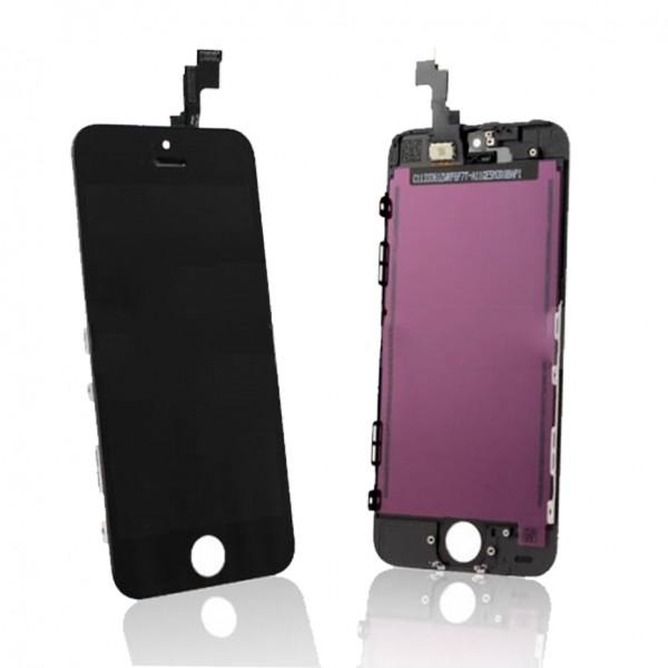 Display für Apple iPhone 5S Retina LCD Retina in schwarz black inkl. Werkzeugset