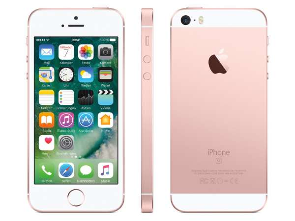 Apple iPhone SE 32GB Rosegold (Generalüberholt)