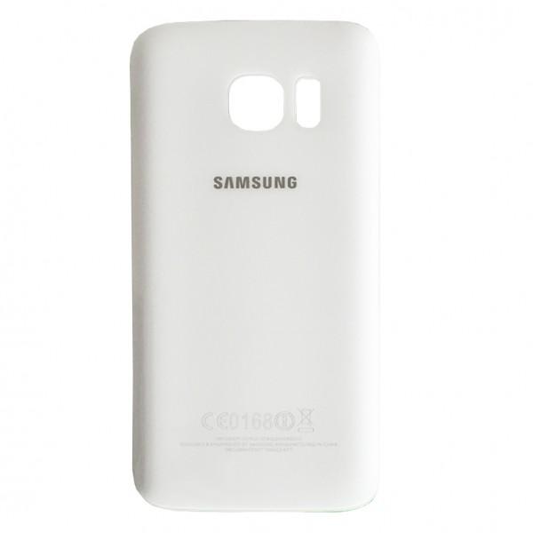 Samsung Galaxy S7 G930F Backcover Akkudeckel in weiß + Kleber