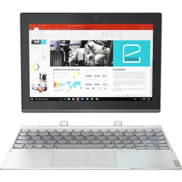 "Lenovo IdeaPad Miix 320 - 10ICR Z8350 64GB LTE 4G 10.1"" Windows platinum silber"