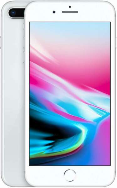 Apple iPhone 8 Plus 256GB Silber (Generalüberholt)
