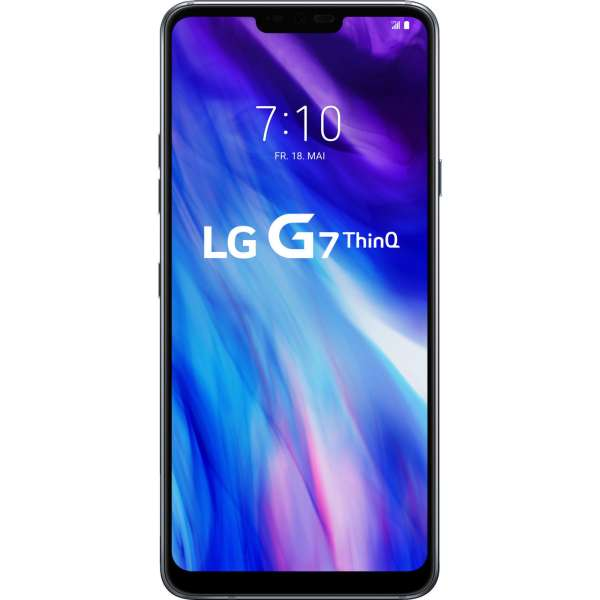 LG G7 ThinQ 64GB LM-G710EM Platinum Gray grau LTE 16MP simlockfrei NEU