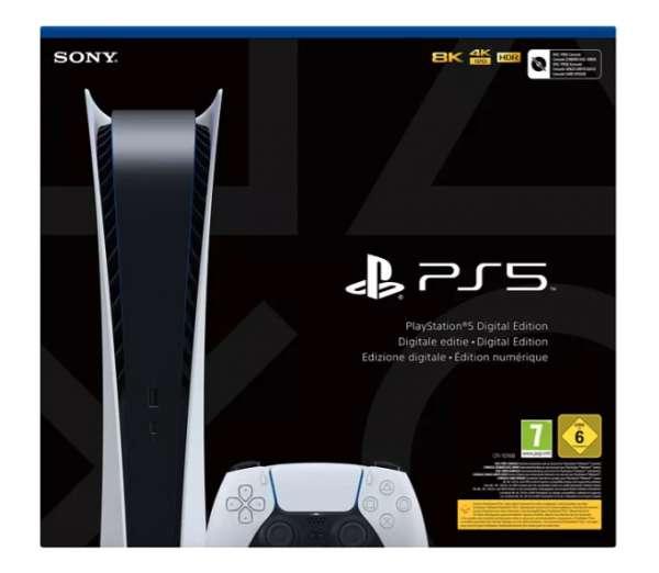 Sony PlayStation 5 Digital Edition - Händler Neu