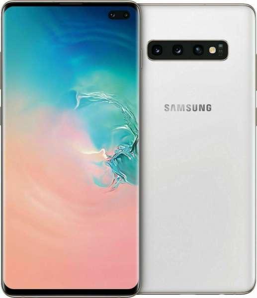 Samsung Galaxy S10+ Plus DUOS SM-G975F/DS 512GB white weiß Ohne Simlock NEU