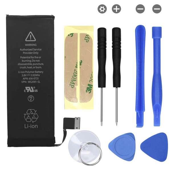 Ersatz Akku Batterie 1560mAH für Apple iPhone 5S inkl. Werkzeug